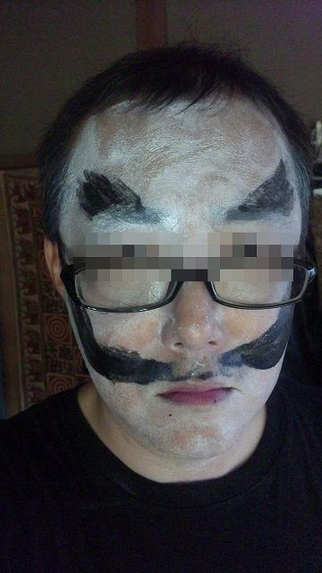 泥棒髭ゾンビA