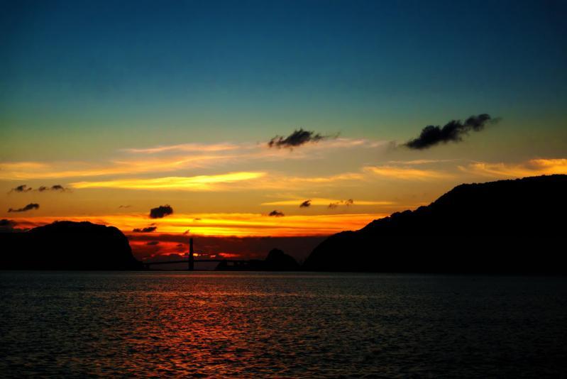 10月23日の夕陽 1
