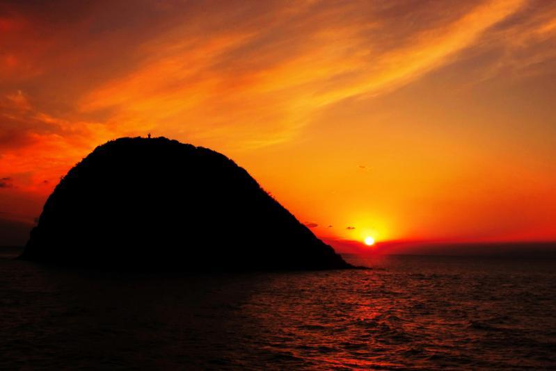 P1010525-3  11月の夕陽