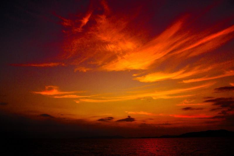 P1040102-1  11月の夕陽 3