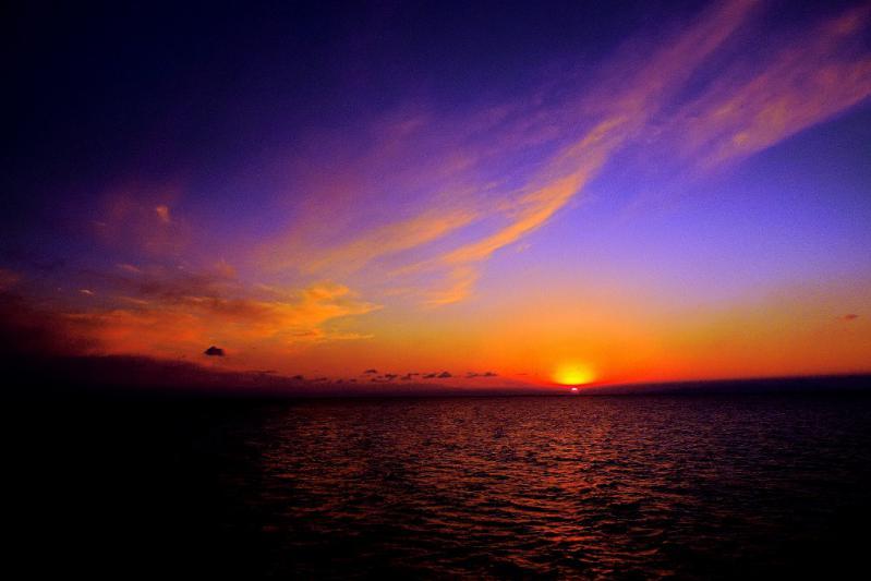 P1010537-1  11月の夕陽