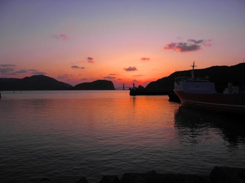 夕陽 中甑