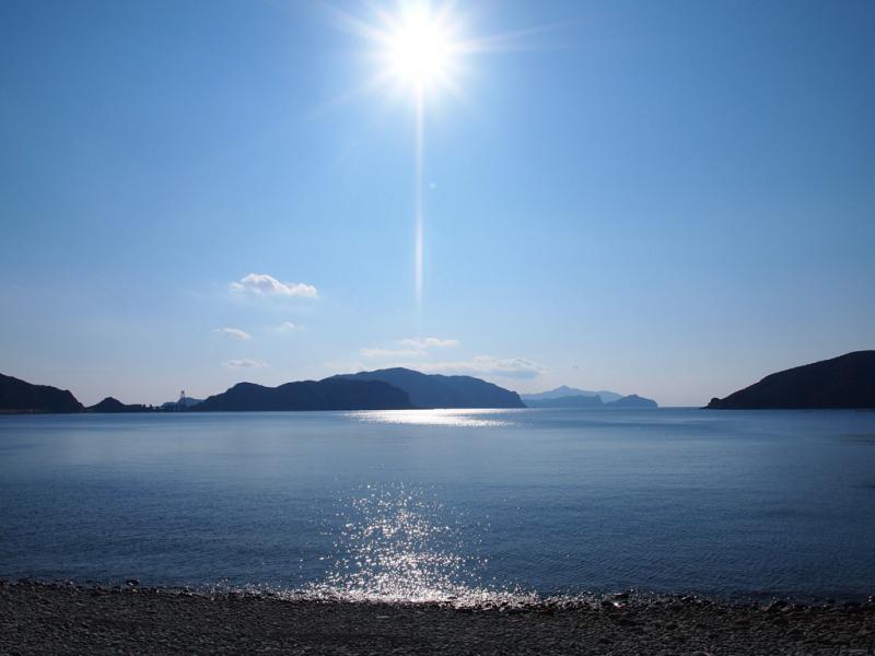中川原 の海