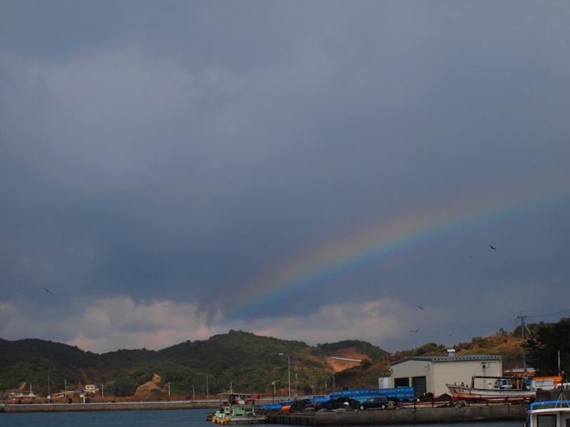 虹と鳶さん
