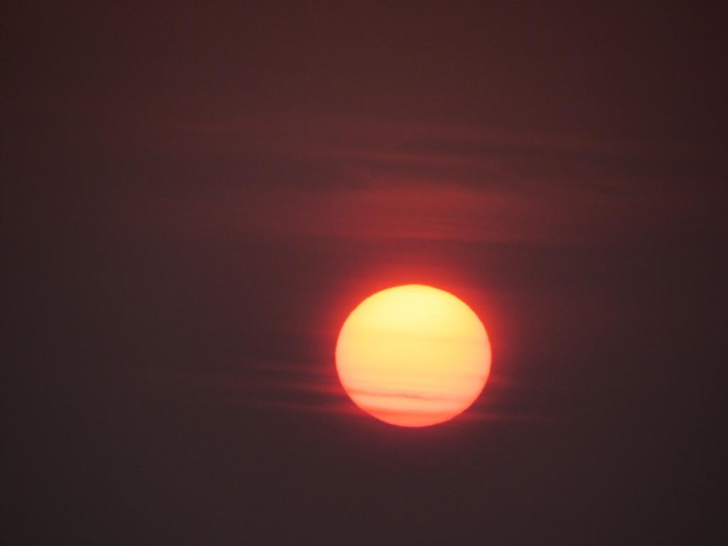 夕陽 優磨撮影