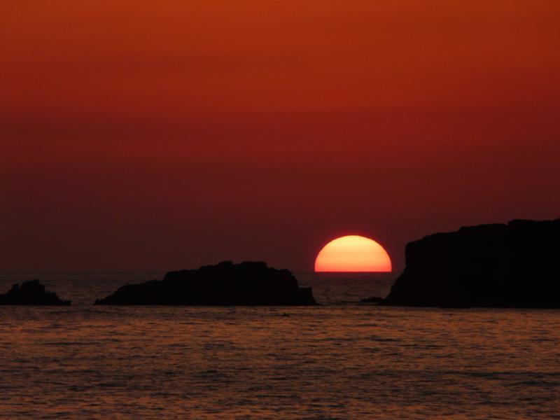 陽が沈む 2