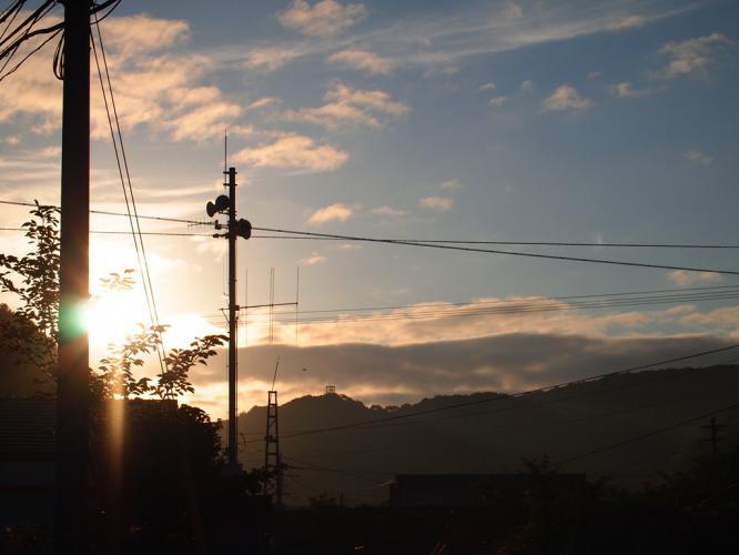 6.22 朝の空