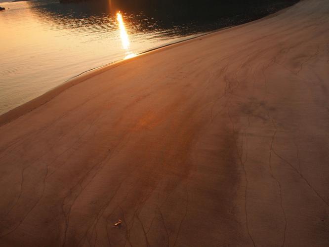 うーたんはま 砂浜