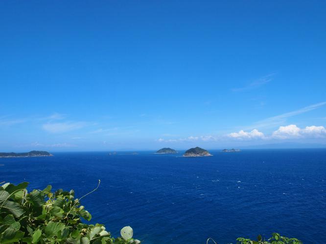 里 ちか島の風景