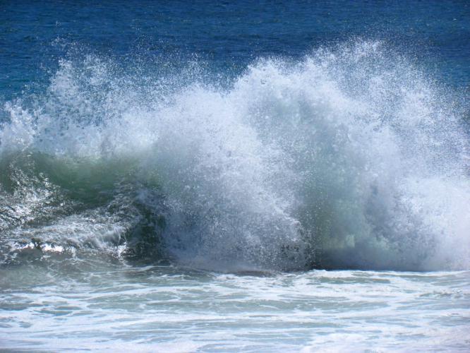 波しぶき 1