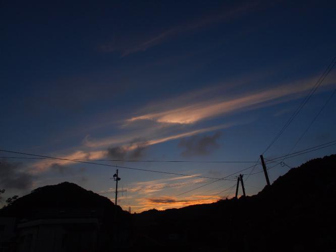 夜明けの空 9.7