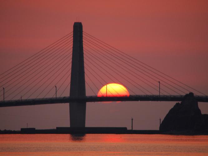 沈む夕陽 1