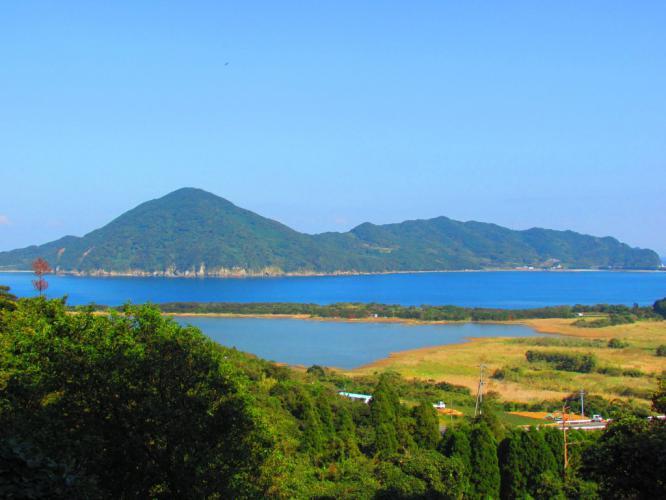 須口池と里・西の浜