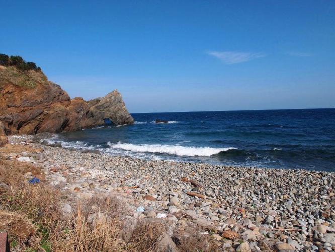 長目の浜 田の尻海岸