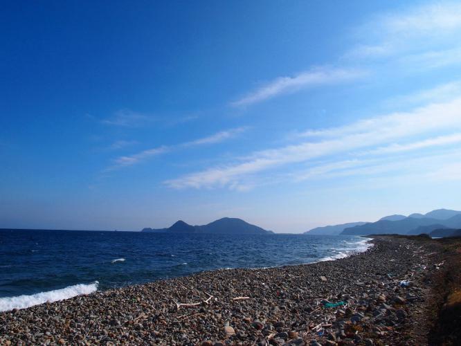 長目の浜 玉石海岸