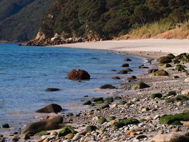 ふくしろの砂浜