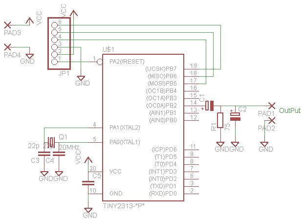 電子オルゴール_回路図