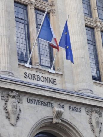 ソルボンヌ大学!