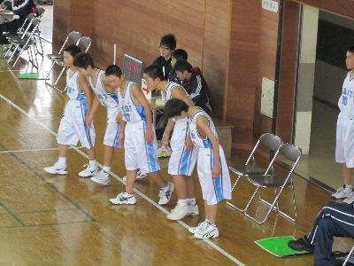 バスケ1年生大会