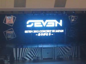 SE7EN 2013 コンサート