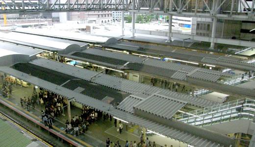 新装なった大阪ステーションシティ-2