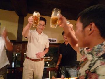渡辺社長 乾杯のご発声