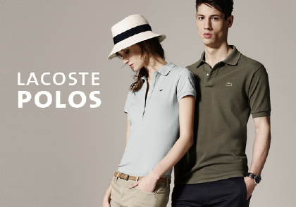 ラコステのポロシャツ/Lacoste Online