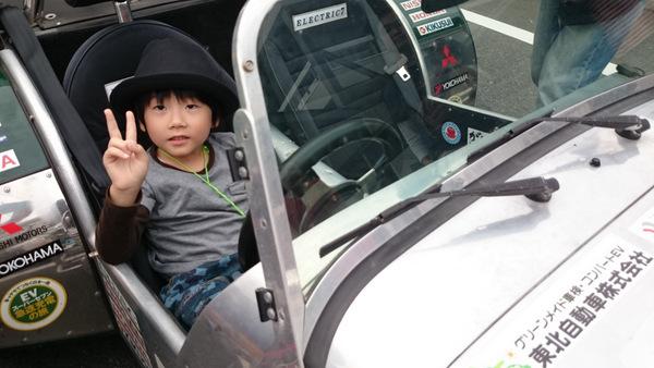 中国横断EVエコドライブグランプリ当日⑰