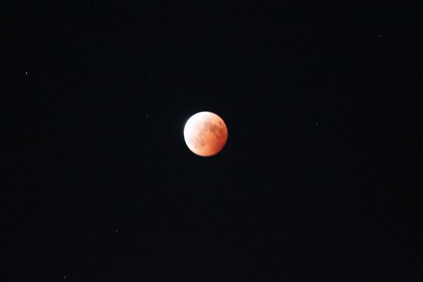 満月皆既月食2014