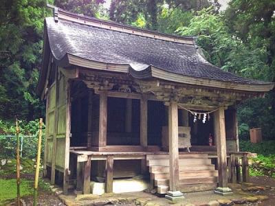 法住寺 白山神社