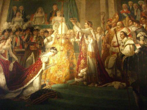 ナポレオンの絵画
