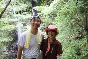 blogほうらいハイク 滝IMG_4592