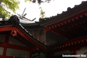 金沢神社(石川県金沢市兼六町)17