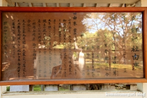 北加瀬熊野神社(川崎市幸区北加瀬)3