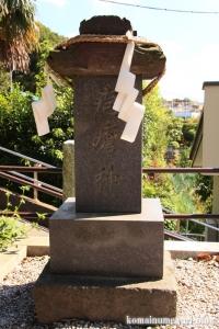 諏訪神社(横浜市港北区蓑輪町)9