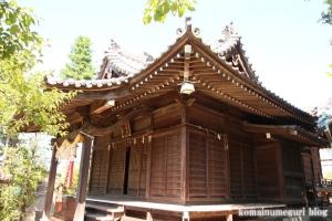 駒林神社(横浜市港北区日吉本町)8