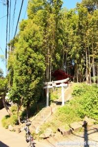 白坂神社(横浜市港北区高田東)1