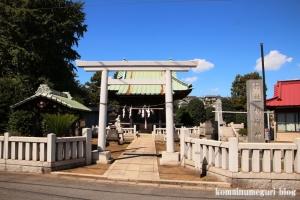 橘樹神社(川崎市高津区子母口)1