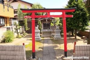 稲荷神社(川崎市幸区鹿嶋田)1