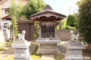 稲荷神社(川崎市幸区鹿嶋田)2