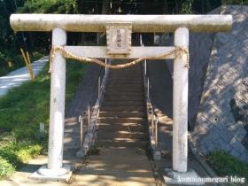 熊野神社(八王子市宇津貫町)2