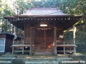 熊野神社(八王子市宇津貫町)5