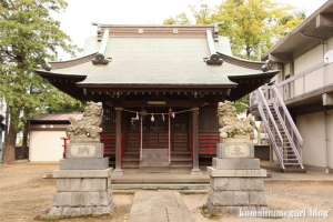 神明神社(川崎市中原区上小田中)3
