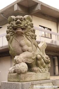 神明神社(川崎市中原区上小田中)4