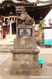 大戸神社(川崎市中原区下小田中)15