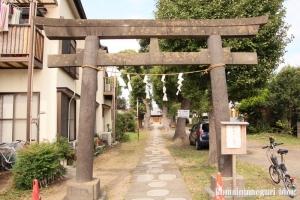 関神社(川崎市中原区上小田中)1