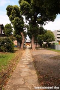 関神社(川崎市中原区上小田中)2