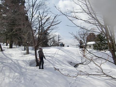 鳥取雪遊び2