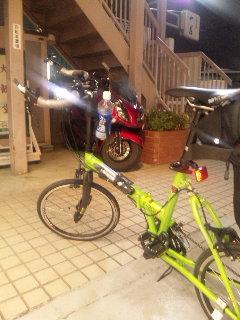 バイクと自転車
