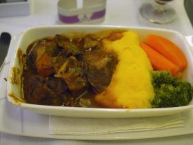 SPAIN機内食4